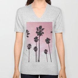 Palms & Sunset Unisex V-Neck