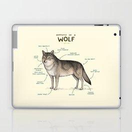 Anatomy of a Wolf Laptop & iPad Skin
