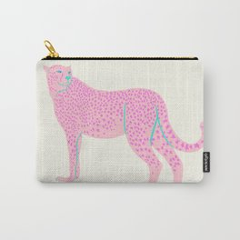 PINK STAR CHEETAH Carry-All Pouch
