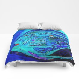 The Blue Fish Comforters