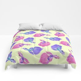 Going with the flow Comforters