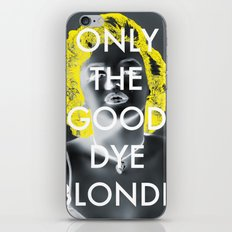 Blondie iPhone & iPod Skin