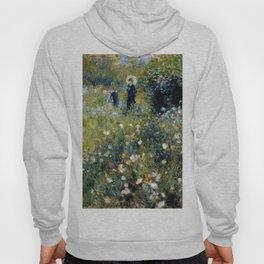 """Auguste Renoir """"Femme avec parasol dans un jardin"""" Hoody"""