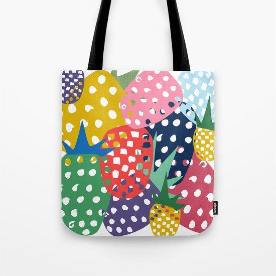 pineapple mix Tote Bag