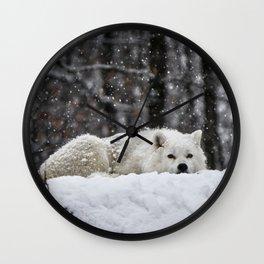 Dreams of warmer weather Wall Clock