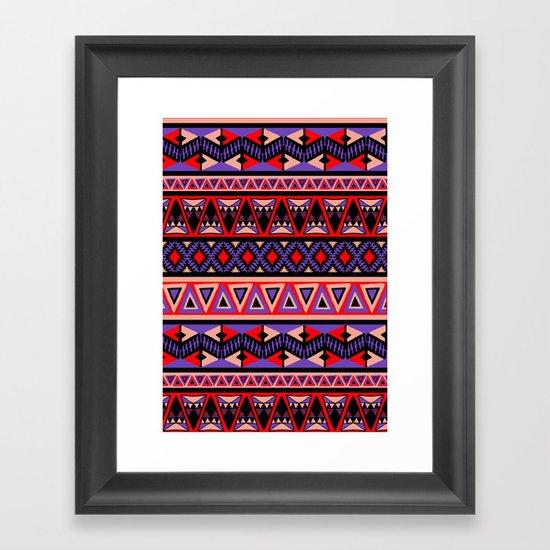 Neo Tribal Framed Art Print