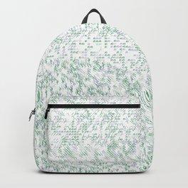 Grass Landscape Pattern 002 Backpack