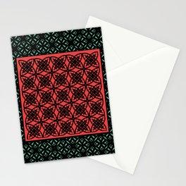 Art Deco Bohemian Mosaic 2 Stationery Cards