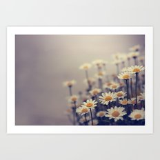 you can bring me flowers Art Print