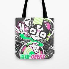 DJ GEEK! Tote Bag