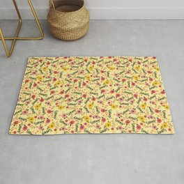 Pretty Sweary: Seriously? Yellow Rug