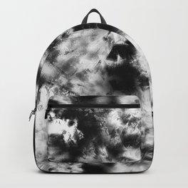 Black and White Tie Dye & Batik Backpack