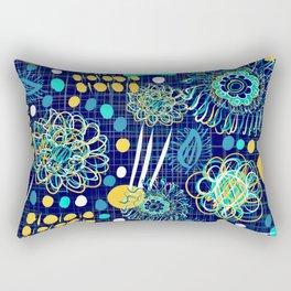 Playful mantra Rectangular Pillow