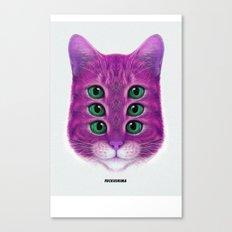 FUCKUCATZ Canvas Print