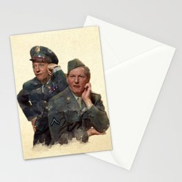 Wallace & Davis (White Christmas) Stationery Cards