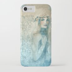 I must be a mermaid Slim Case iPhone 7