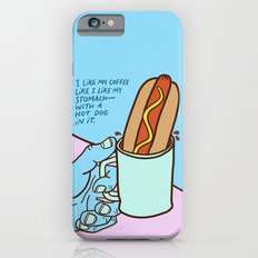 Hot Dog Coffee iPhone 6 Slim Case
