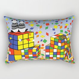 Rubix Panda Rectangular Pillow