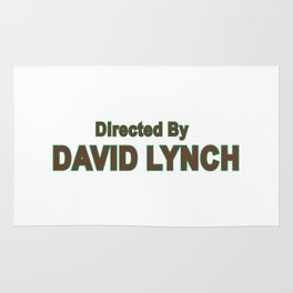 david lynch Rug