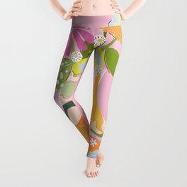 Colourful Garden Leggings