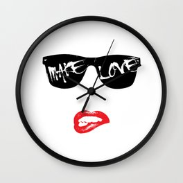 Make Love Wall Clock