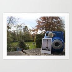 First Ever Polaroid Art Print
