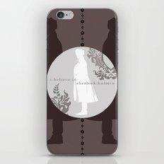 I Believe in Sherlock Holmes iPhone & iPod Skin