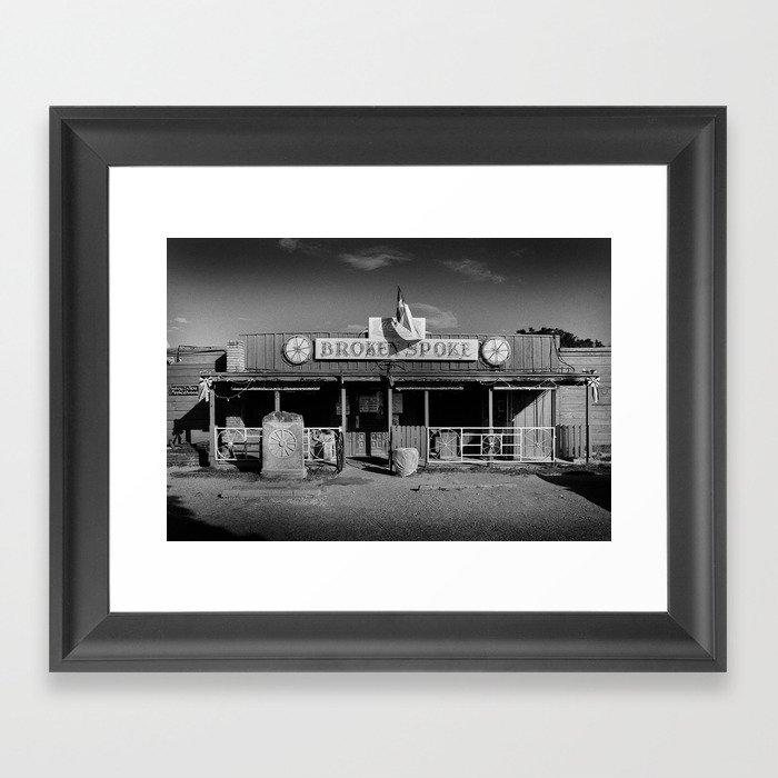 Broken Spoke Saloon Austin Texas Gerahmter Kunstdruck