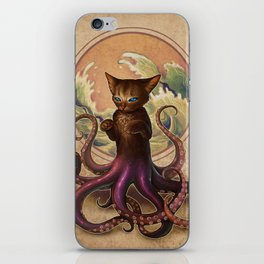 Octopussy iPhone Skin