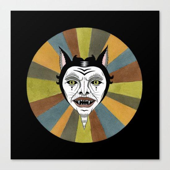 Cat Color Wheel No. 1 Canvas Print