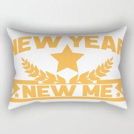 New year new me Rectangular Pillow