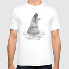 Nymph Mens Fitted Tee White MEDIUM