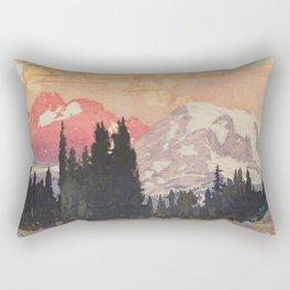 Storms over Keiisino Rectangular Pillow