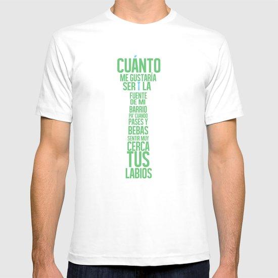 Fuente de las Amapolas T-shirt