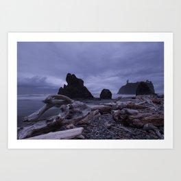 West Coast Washington Art Print