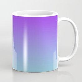 Purple Aqua Ombre Coffee Mug