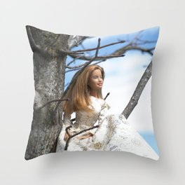 Spring Muse Throw Pillow