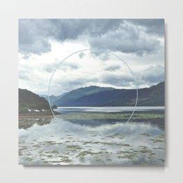 Scottish Loch Metal Print