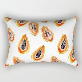 Papaya Paradise Rectangular Pillow