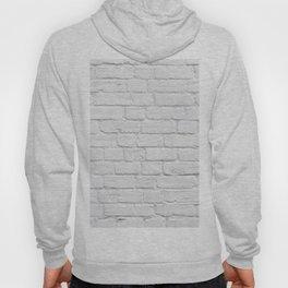 White Brick Wall Hoody