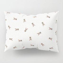 Baby Rabbit with Flower Crown Pillow Sham