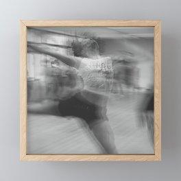 untitled dance Framed Mini Art Print