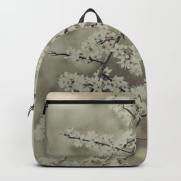 hawthorn blossoms Backpack
