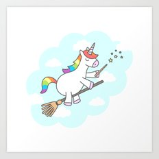 Unicorn Magic Art Print