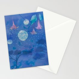 Night Blooms Stationery Cards