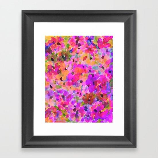 Fleur Framed Art Print