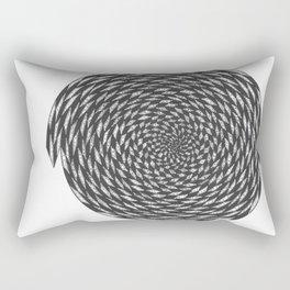 spiral 2 Rectangular Pillow