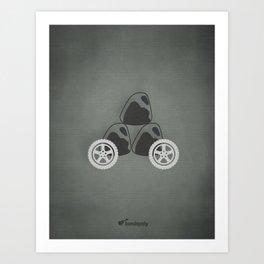 Rolling Stones. Art Print