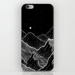Sea mountains iPhone Skin
