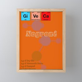 Negroni Framed Mini Art Print